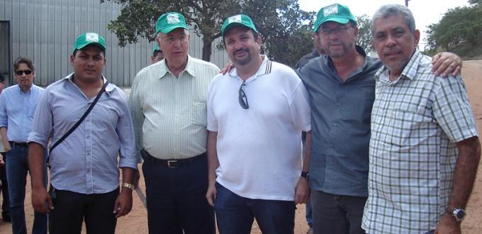 Representantes ASPLAN Pindorama2012