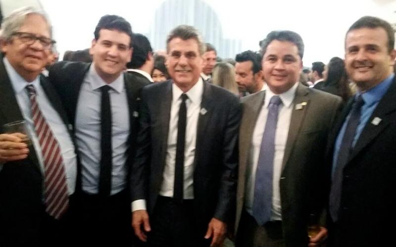 Posse do novo presidente da Frente Parlamentar da Agropecuária tem participação do presidente Temer, de ministros e várias autoridades