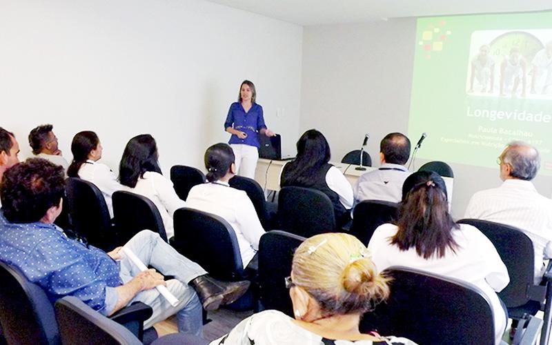 'Alimentação correta e equilibrada assegura maior longevidade com mais qualidade de vida e saúde' reitera nutricionista Paula Bacalhau