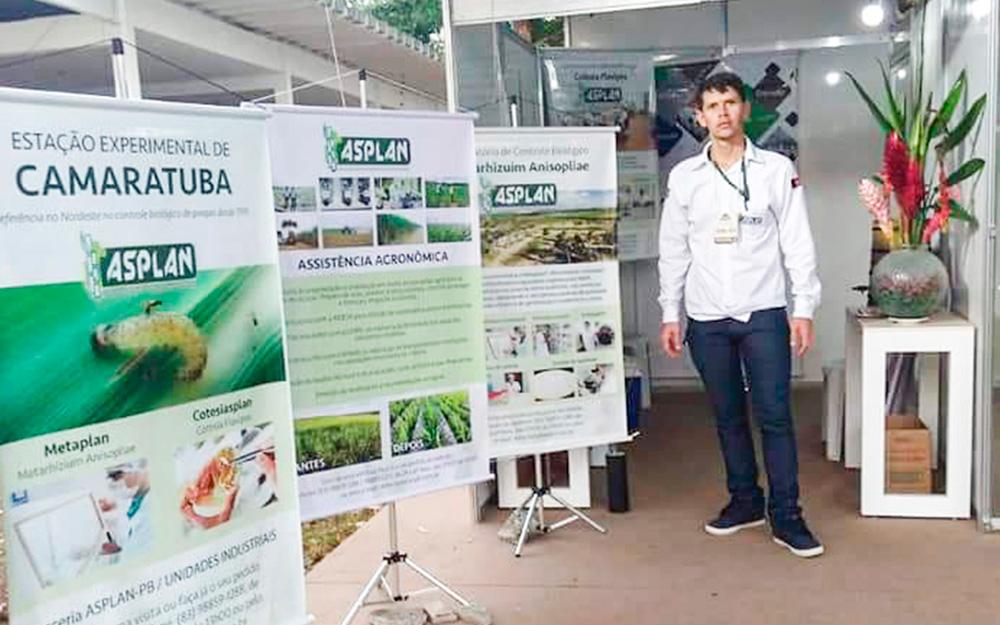 Asplan divulga trabalho de produção de insumos  Biológicos em seu stand na Expofeira Paraíba Agronegócios