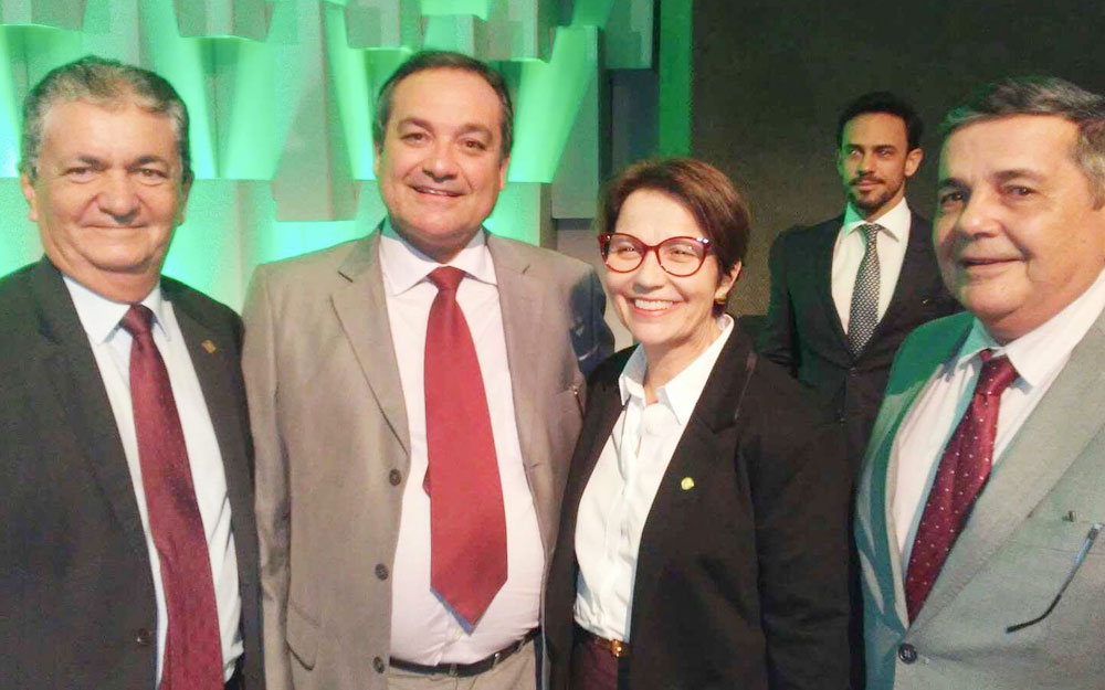 Paraibanos prestigiam entrega do Prêmio CNA AGRO Brasil 2018