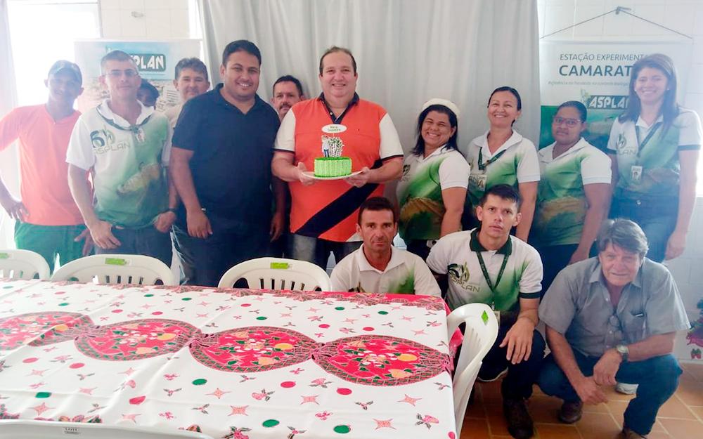 Comemoração natalina na estação de Camaratuba  incluiu homenagens ao diretor do DETEC