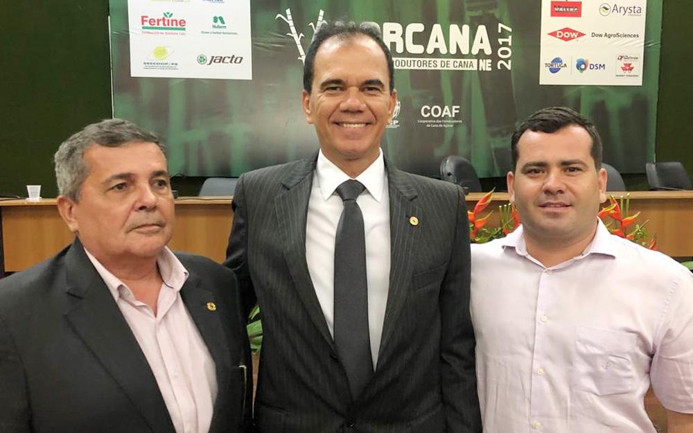 Eleição de Alexandre Lima para presidente da Associação dos fornecedores de Cana de Pernambuco reforça liderança dele no setor