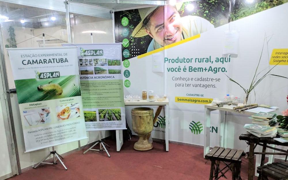 Expofeira Paraíba Agronegócios também tem divulgação do trabalho de produção de insumos biológicos da Estação de Camaratuba