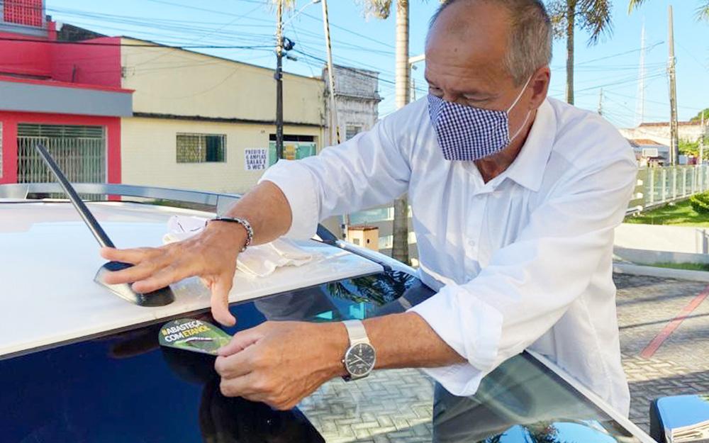 Asplan também apoia Campanha de estímulo ao uso do Etanol com adesivagem de carros de associados, funcionários e condôminos