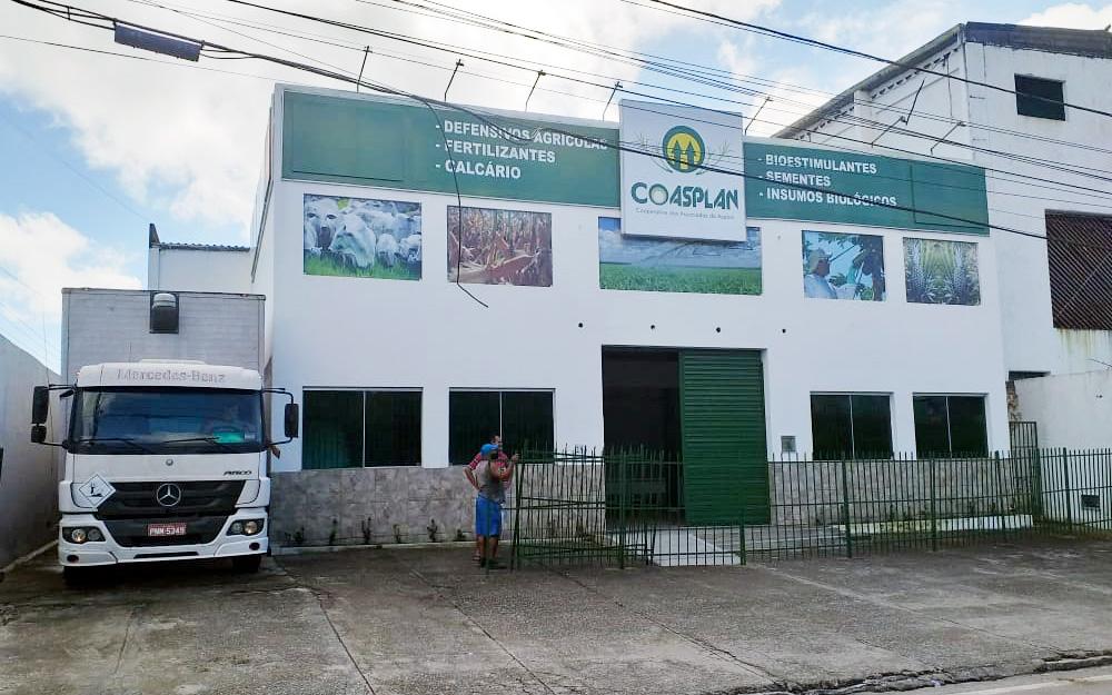 Chega primeira compra de insumos da Cooperativa de produtores rurais da Paraíba