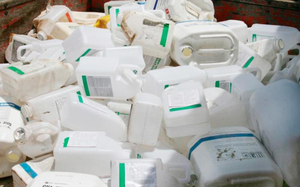 Asplan participa de ação que estimula produtores a fazer a logística reversa de embalagens de agrotóxicos
