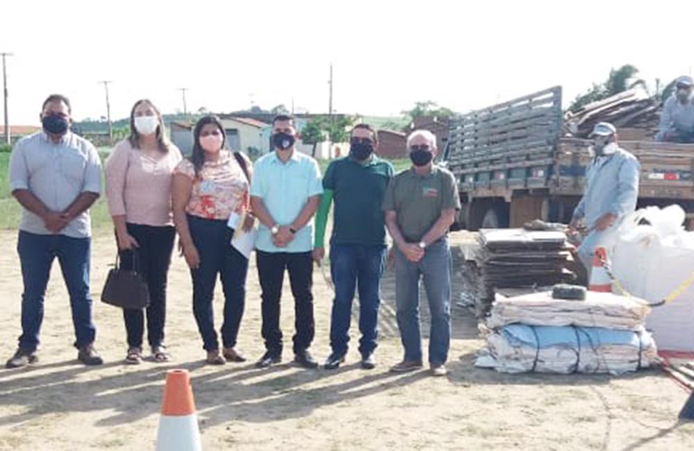 Ação de logística reversa em Itapororoca consegue     arrecadar 582 kg de embalagens de defensivos agrícolas