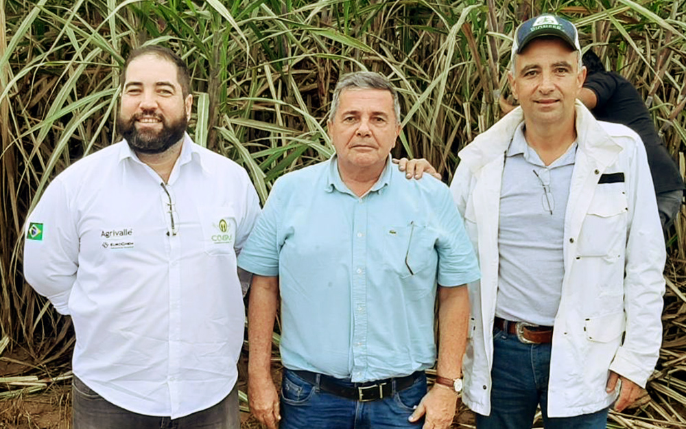 Consultor Fernando Meirelles esteve na Paraíba essa semana e visitou fazenda que cultiva cana-de-açúcar