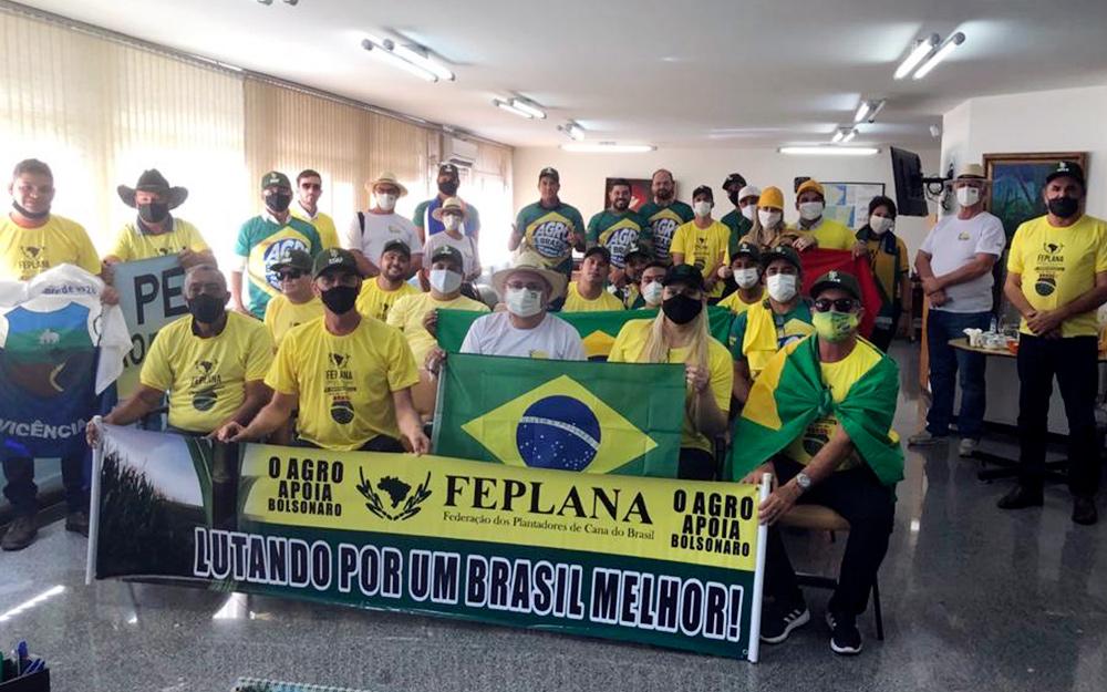 Paraíba também foi representada em ato pró-governo Bolsonaro