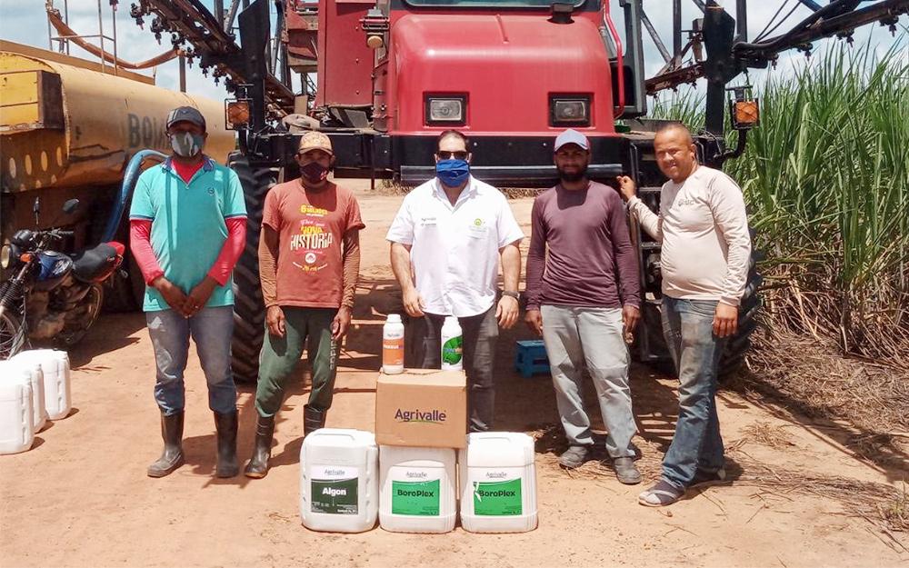 Asplan em parceria com a Coasplan e Agrivalle desenvolve campanha de nutrição foliar em plantações de cooperados